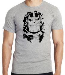 Camiseta Infantil Thanos black