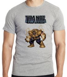 Camiseta Infantil Thanos Cartoon