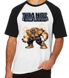 Camiseta Raglan Thanos Cartoon