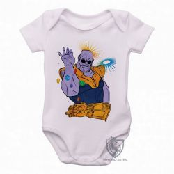 Roupa Bebê Thanos Dedos