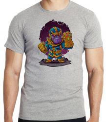 Camiseta Infantil Thanos Geek