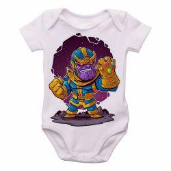 Roupa Bebê Thanos Geek