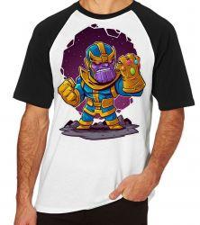 Camiseta Raglan Thanos Geek