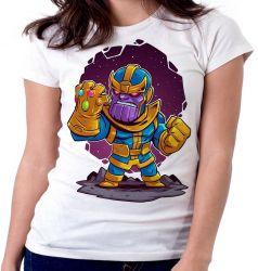 Blusa Feminina Thanos Geek