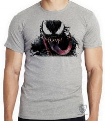 Camiseta Infantil Venom Aranha