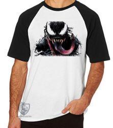 Camiseta Raglan Venom Aranha