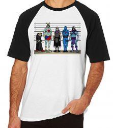 Camiseta Raglan Vilões antigos