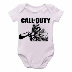Roupa Bebê Call of Duty