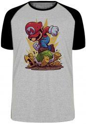 Camiseta Raglan Mario Bros