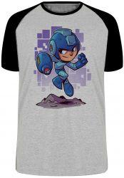 Camiseta Raglan Mega Man