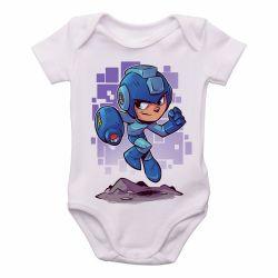 Roupa Bebê Mega Man