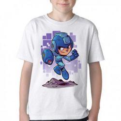 Camiseta Infantil Mega Man