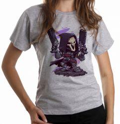 Blusa Feminina Reaper Overwatch