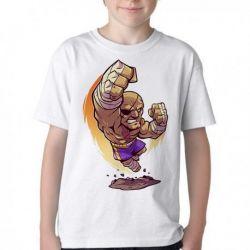 Camiseta Infantil Sagat Street Figther