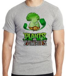 Camiseta Infantil Plants vs Zombies