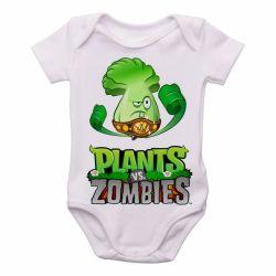 Roupa Bebê Plants vs Zombies