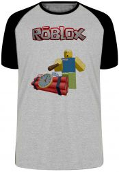 Camiseta Raglan Roblox Bomba