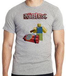 Camiseta Infantil Roblox Bomba