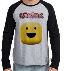 Camiseta Manga Longa Roblox Carinha