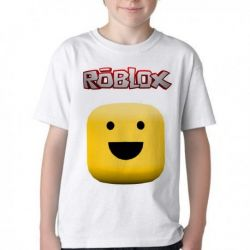 Camiseta Infantil Roblox Carinha
