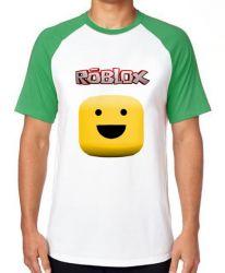 Camiseta Raglan Roblox Carinha