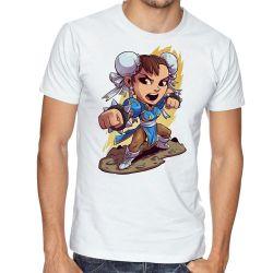 Camiseta Chun Li Street Figther