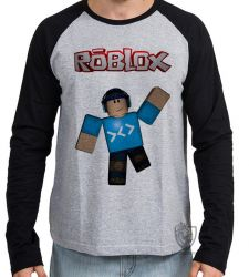 Camiseta Manga Longa Roblox Game