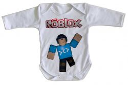 Roupa Bebê manga longa Roblox Game