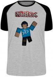 Camiseta Raglan Roblox Game
