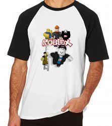 Camiseta Raglan Roblox Turma