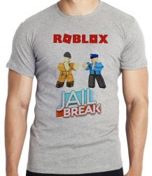 Camiseta Infantil Roblox Jail Break