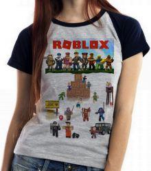 Blusa Feminina Roblox Personagens
