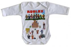 Roupa Bebê manga longa Roblox Personagens