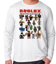 Camiseta Manga Longa Roblox Skins
