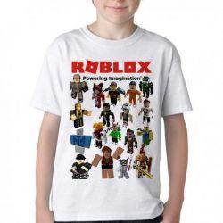 Camiseta Infantil Roblox Skins