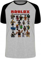 Camiseta Raglan Roblox Skins