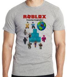 Camiseta Infantil Roblox Turma