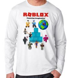 Camiseta Manga Longa Roblox Turma