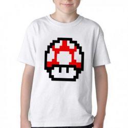Camiseta Super Mario Mushroom