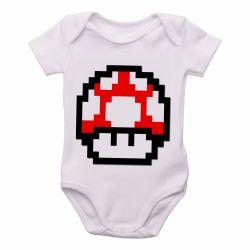Roupa Bebê Super Mario Mushroom