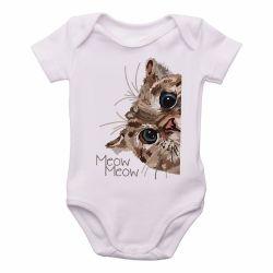 Roupa Bebê Meow Gato