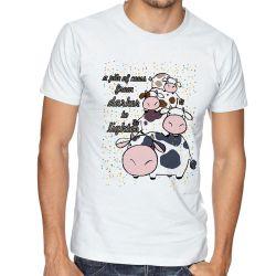 Camiseta Pilha de Vacas
