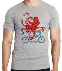 Camiseta Infantil Polvo Bicicleta