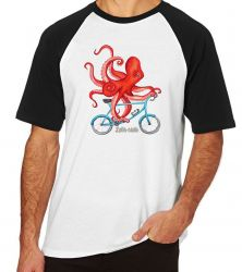 Camiseta Raglan Polvo Bicicleta