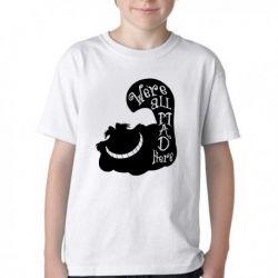 Camiseta Infantil Gato Cat preto