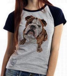 Blusa Feminina Cachorro Bulldog Dog