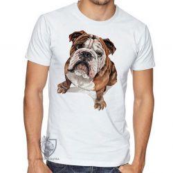 Camiseta Cachorro Bulldog Dog