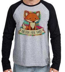 Camiseta Manga Longa Raposa