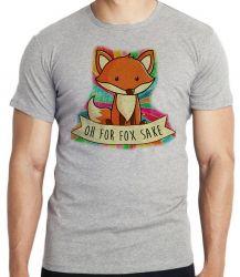 Camiseta Infantil Raposa