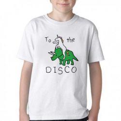Camiseta Infantil Dinossauro Unicórnio